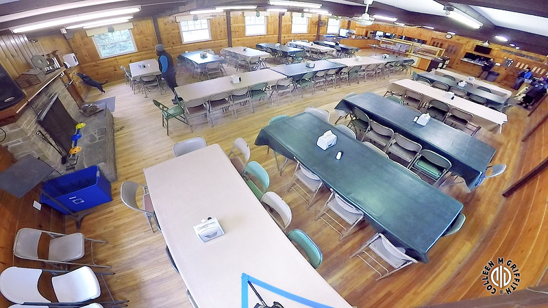 "Search Area #1 ""Dining Hall"" Standard Sample Video, Camera Angle 2 of 2, Halifax Elite NW Trial"