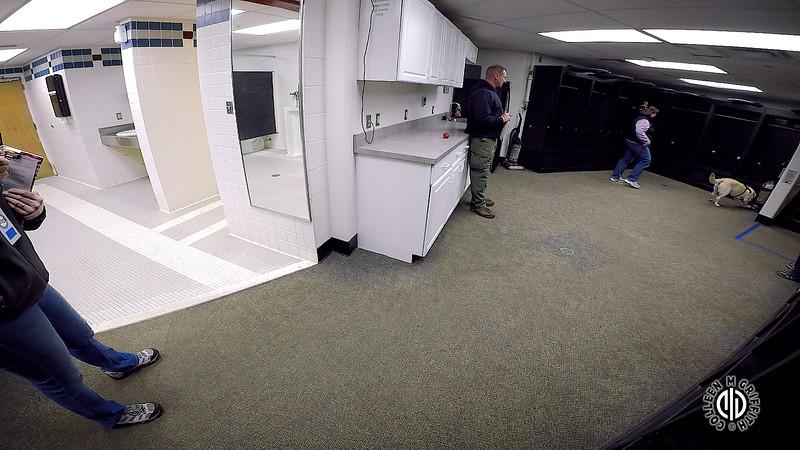 "Elite Search Area 3: ""Locker Room"", Camera Angle 1 of 2, Standard Sample Video"