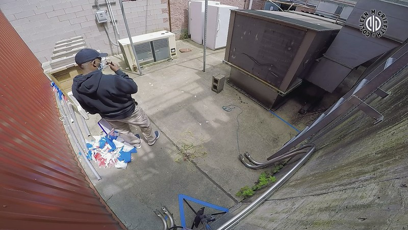 """NW3 Standard Edited Sample Video: Exterior 2 """"Courtyard Maintenance"""", Camera Angle 2 of 2"""