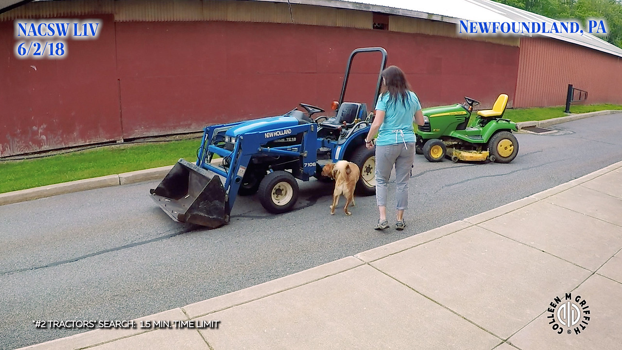 Standard Sample Video, #2 Tractors Search, L1V