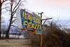 Kaiser Fraser auto dealer sign converted to the Town & Country Motel