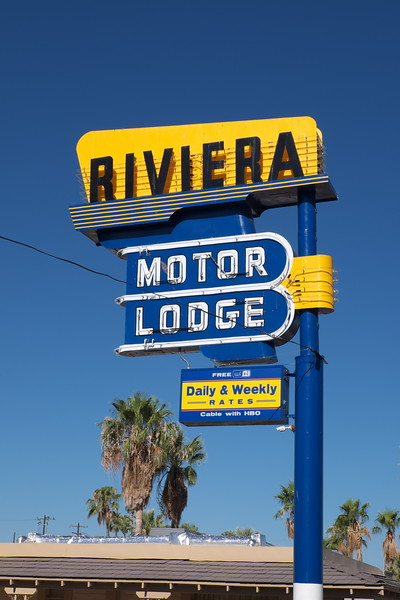 Riviera Motor Lodge;  Tucson, Arizona