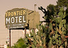 Frontier Motel. Part of a series of old 1950's vintage motels from Tucson, Arizona.