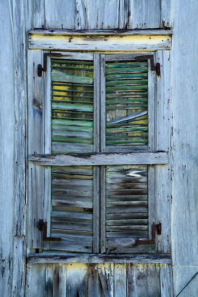 Weathered Window, Key West