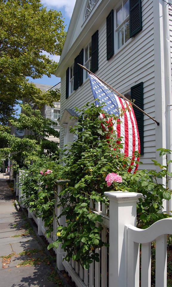 Historic architecture in Stonington, Connecticut