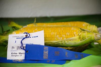 Blue ribbon corn