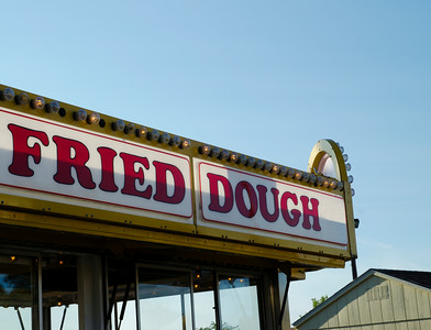 Fried dough booth.