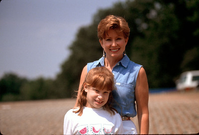 Jo Sue Boehnke Pazda and daughter
