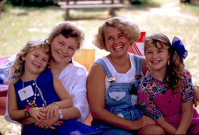 Beth Mills & daughters