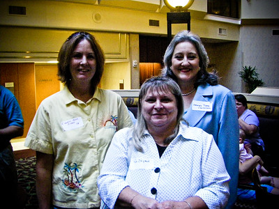 Cheryl Ross Pisani, Pam Shipman, Deborah Thoma Charboneau