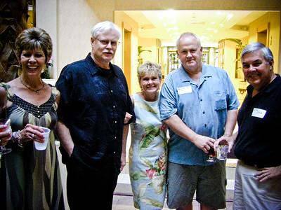 Stephanie Griffith, Mike Logan, Beth Coakley Mills, Bob Mills, John Coale