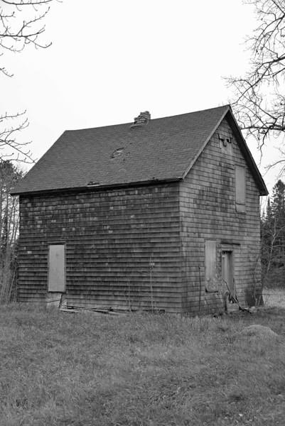Old house outside of Two Harbors.