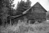 Vintage Barn (B&W)
