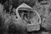 Vintage Boat (B&W)