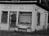 Vintage Gas Station (B&W)