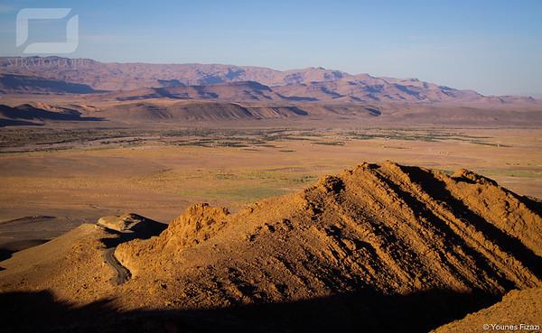 Fin du massif de Jbel Lmaîz