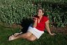 My daughter Kirby at Sherwood Gardens.