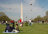 Washington Monument during the Smithsonian Kite Festival.<br /> <br /> I thought this would be good to post for the beginning of spring.