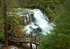 Muddy Creek Falls from upper overllook.