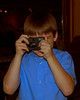 Zane taking pictures.