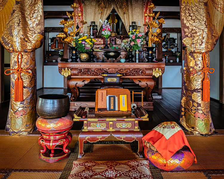 Inside Tufukuji