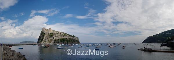 Aradonese Castle, Ischia Ponte,