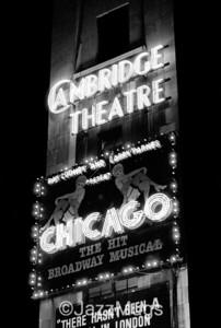 """CAMBRIDGE THEATRE, """"CHICAGO"""""""