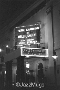 "DRURY LANE THEATRE ""HELLO DOLLEY"" - CAROL CHANNING"