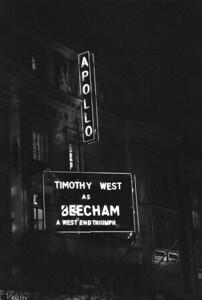 """APOLLO THEATRE  """"BEECHAM""""  TIMOTHY WEST"""