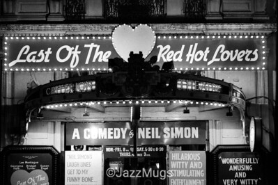 """CRITERION THEATRE, """"THE LAST OF THE RED HOT LOVERS"""""""