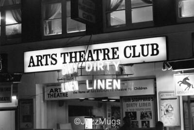 "ARTS THEATRE CLUB  ""DIRTY LINEN"""