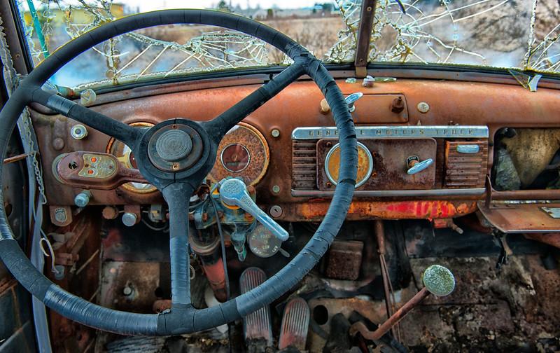 Old GMC Farm Truck