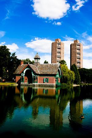Central Park Garden Conservatory