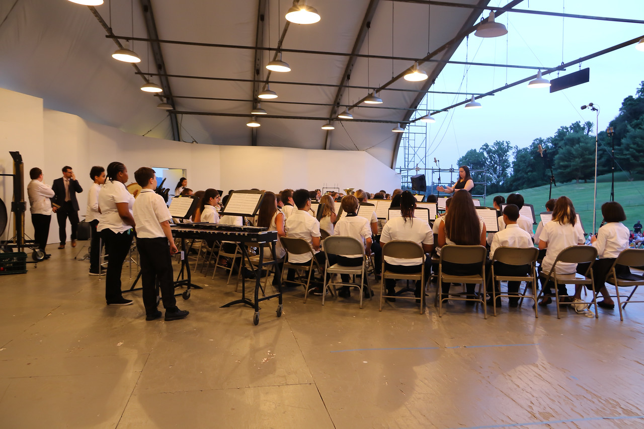 BCPS Summer Music Camp Concert, Oregon Ridge. June 29, 2017