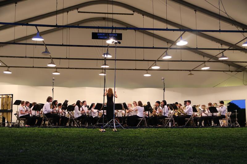 BCPS Summer Music Camp Concert, Oregon Ridge. June 29, 2017