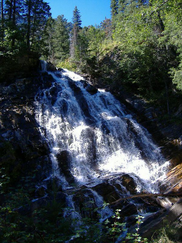 Bertha Falls, Waterton Lakes National Park, Alberta.