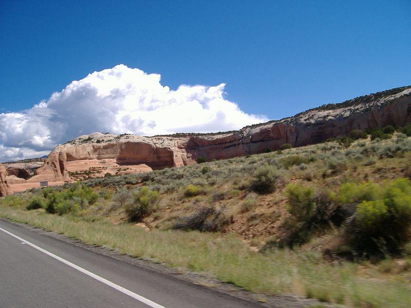 More rocks near Moab.