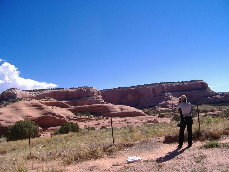 Rocks near Moab, Utah.