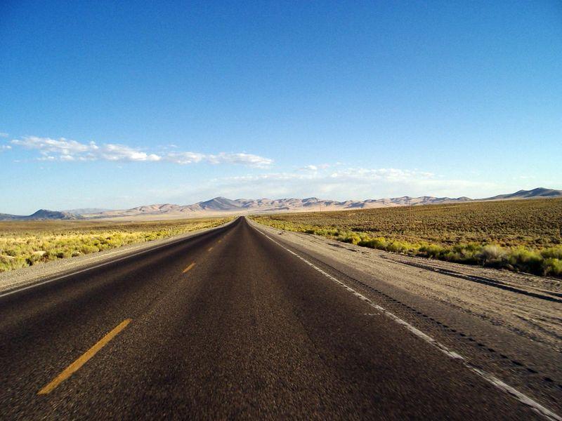 Highway 93, Nevada.