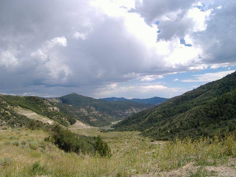 Northwest Colorado, Highway 139.  <br /> Douglas Pass, 8268 ft. elevation.