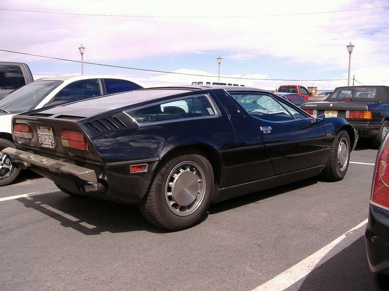 Another Maserati at Cameron Trading Post, northern Arizona.