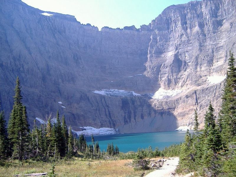 Iceberg Lake, Glacier National Park, Montana.