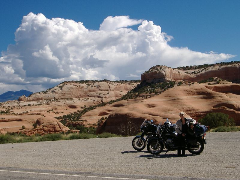 Near Moab.