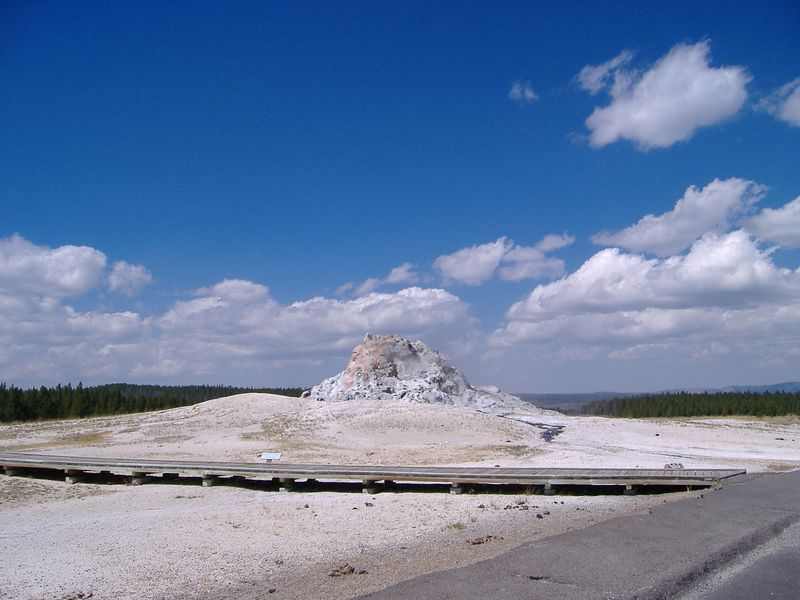 Mud volcano along Firehole Lake Drive, Yellowstone National Park.
