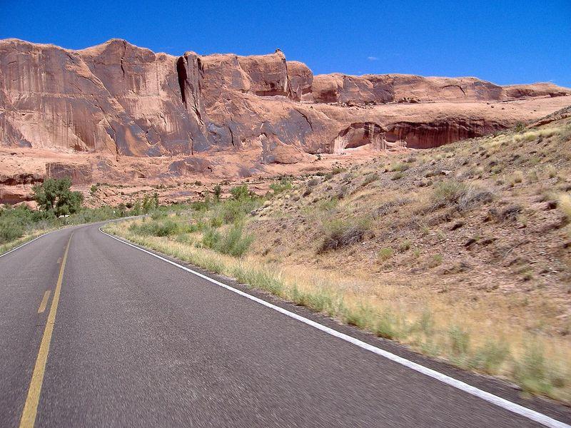 Highway 128.