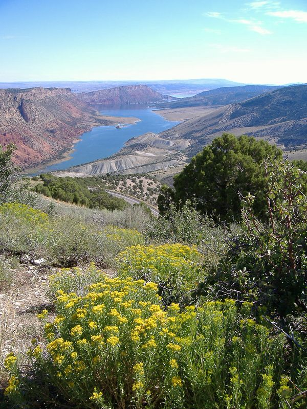 Flaming Gorge Rec Area.