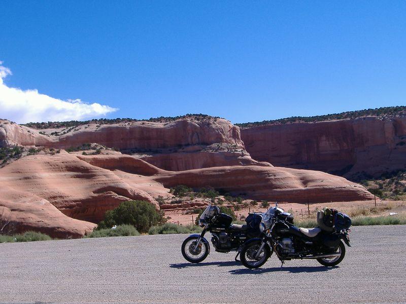 More rocks near Moab, Utah.