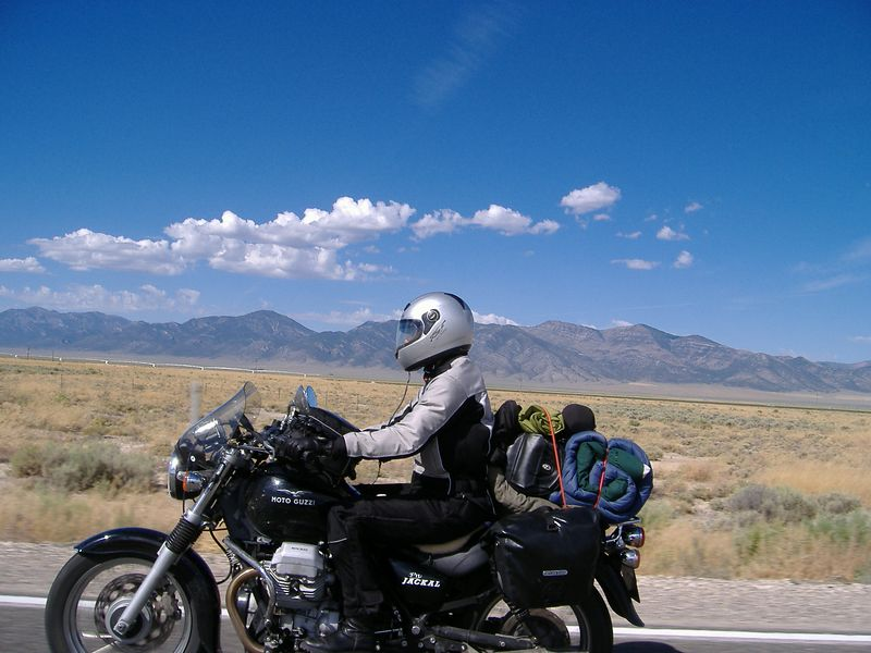 Cruising on Highway 93.  Nevada.