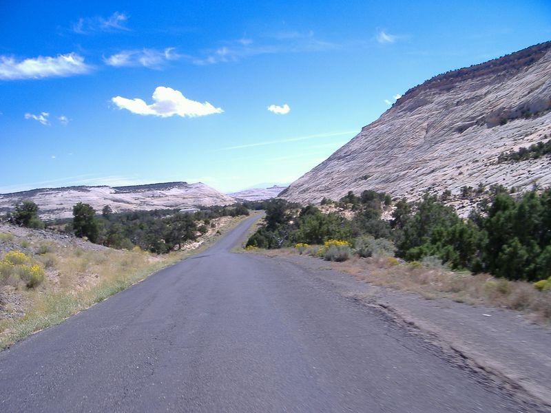 Burr Trail, off Highway 12 near Boulder.