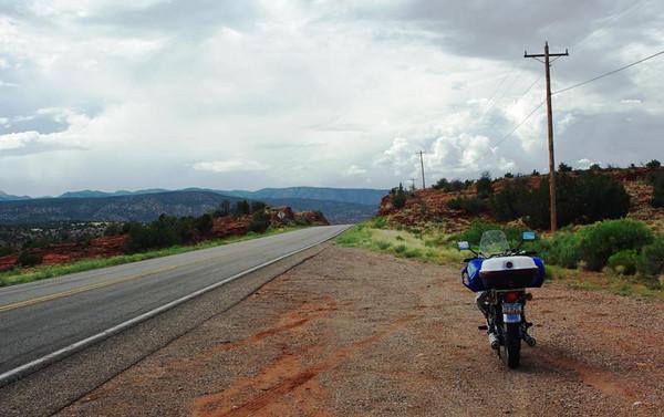 Leg-stretch at Jemez Pueblo, New Mexico.